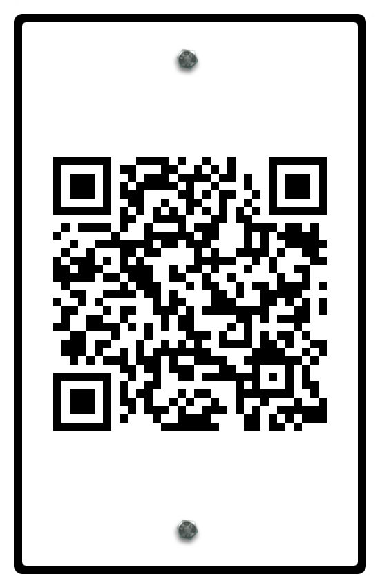 Augmenting Place QR Code Sign