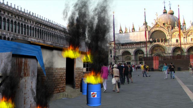 Water_wARS_Piazza_San_Marco_Fire