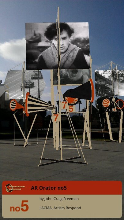 """""""Orators, Rostrums, and Propaganda Stands,"""" by John Craig Freeman, Los Angeles County Museum of Art, July 2012."""