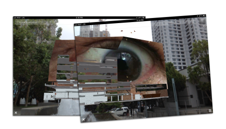 SFMOMA AR, by John Craig Freeman and Will Pappenheimer, augmented reality public art, San Francisco, 2013.