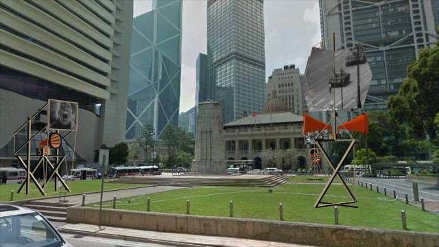Orators_Rostrums_&_Propaganda_Stands_Hong_Kong